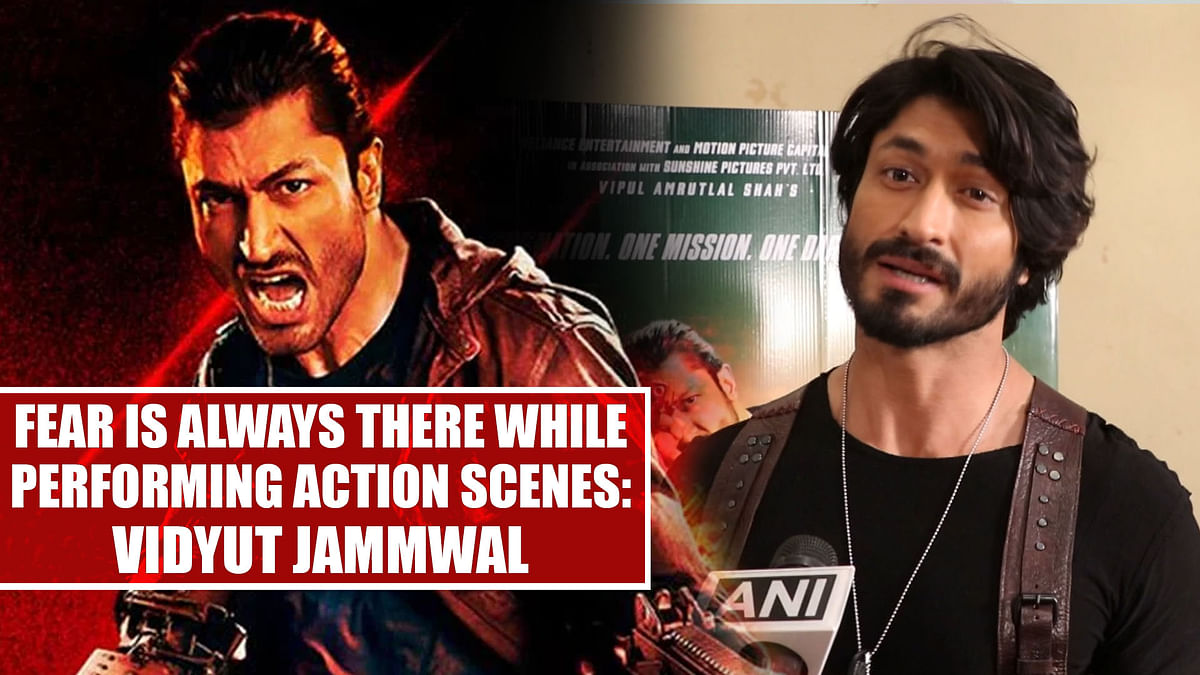 Fear is always there while performing action scenes: Vidyut Jammwal