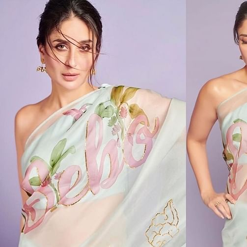 Bombshell Bebo: Kareena Kapoor's sexy saree pics will make you sweat even in winters