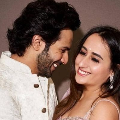Someone tried kissing Natasha Dalal and its not Varun Dhawan!