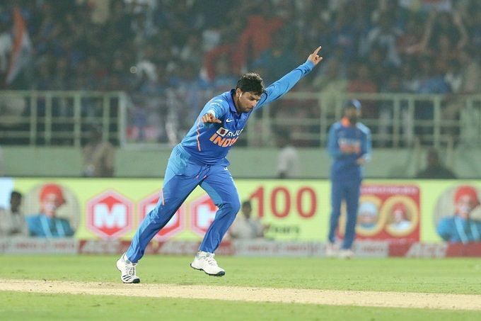 Ind vs WI: Kuldeep Yadav becomes the first Indian bowler to pick two hat-tricks in ODIs