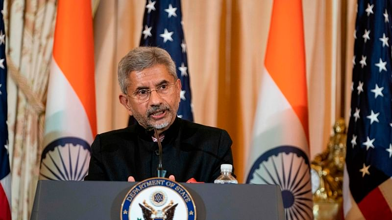 Congressional resolution on Kashmir not fair characterisation of situation in Jammu and Kashmir: S Jaishankar