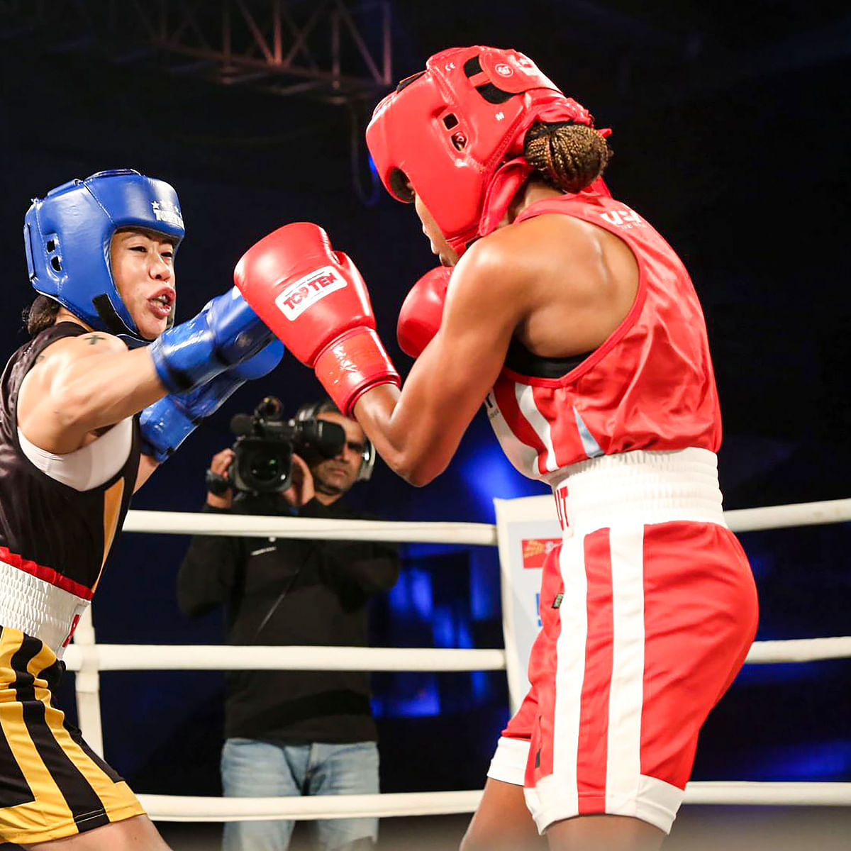 Indian Boxing League: Mary Kom punches Bombay Bullets