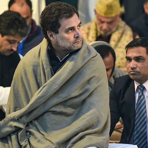 Rahul Gandhi sends out greeting cards to Congress workers on Christmas eve