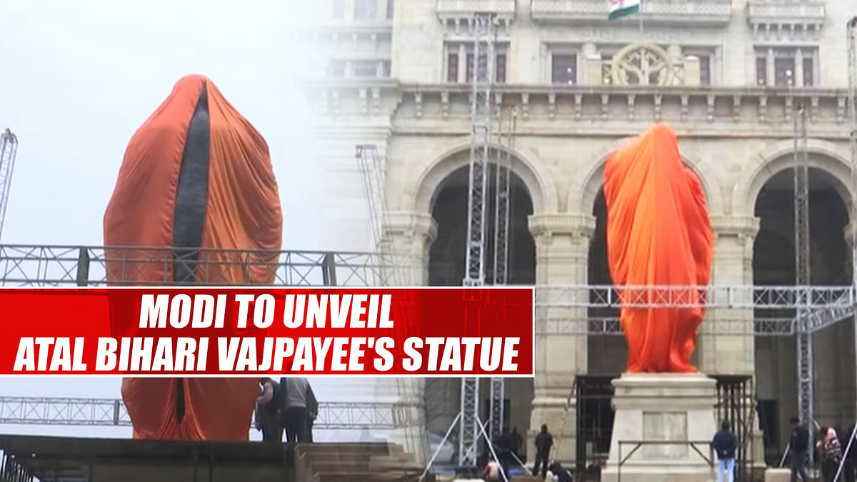 PM Modi to unveil Atal Bihari Vajpayee's statue in Lucknow