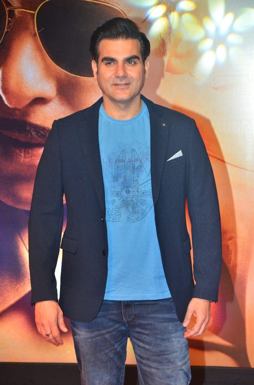 Arbaaz Khan at the screening