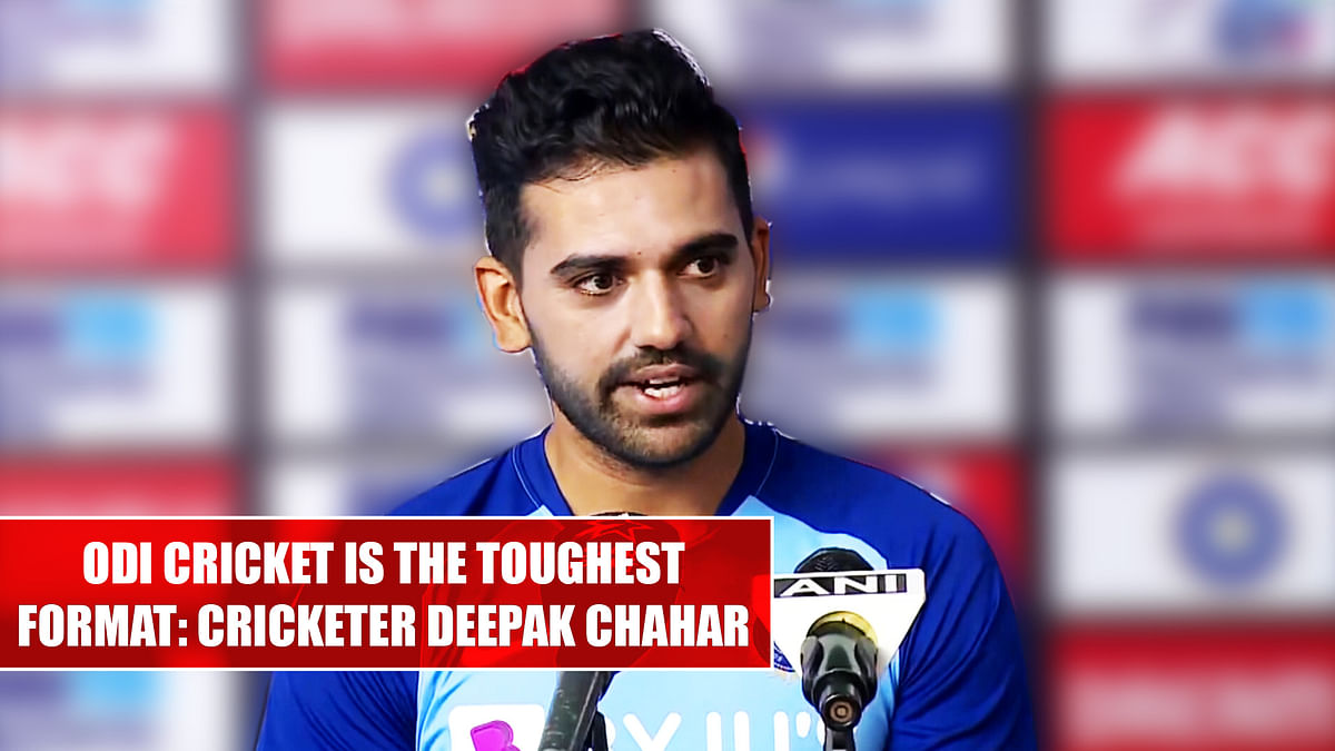 ODI cricket is the toughest format: Cricketer Deepak Chahar