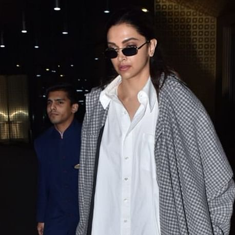 Hey Deepika Padukone, what's with the jumbo jacket in Mumbai's weather