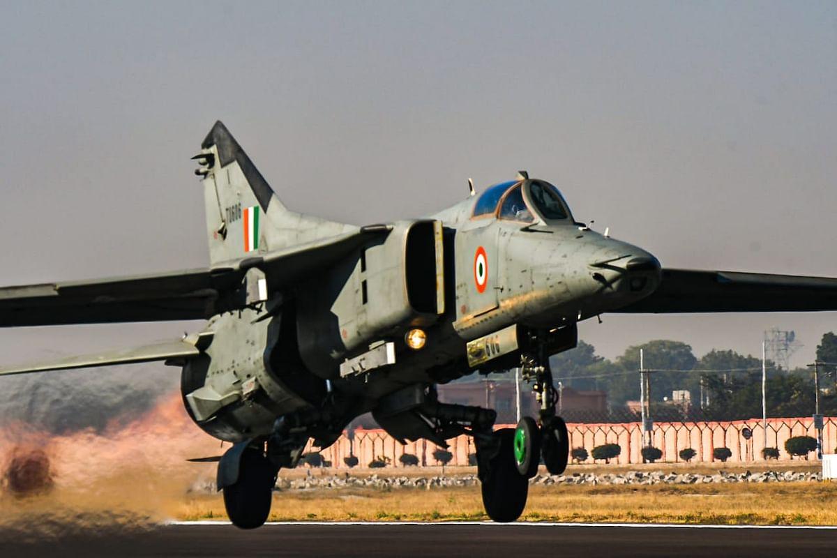 Indian Air Force bids adieu to MiG 27