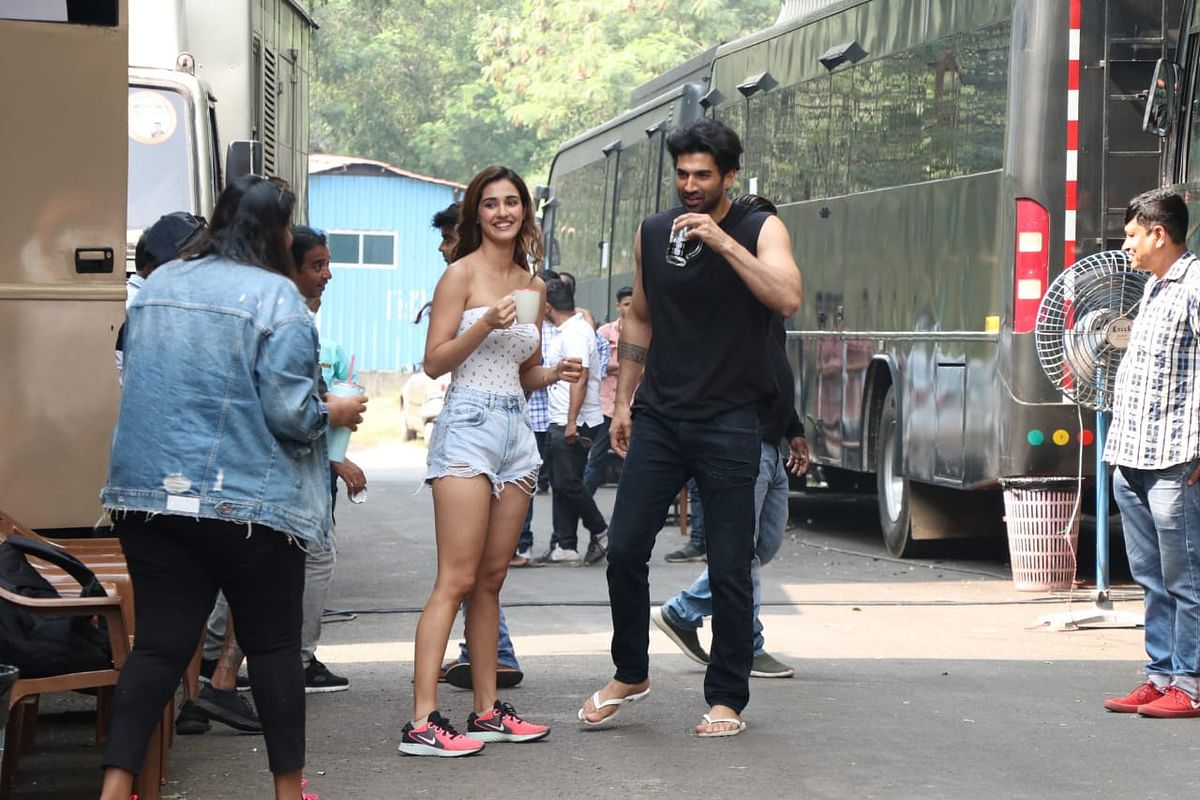 Disha and Aditya Roy Kapur
