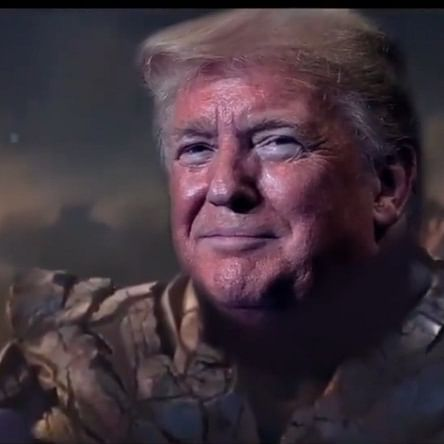 Thanos creator calls Trump a 'pompous fool' for latest 'Avengers' ad