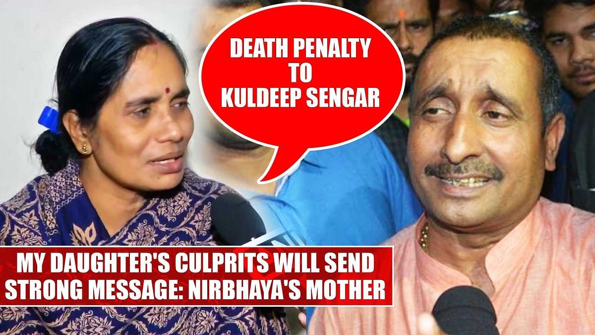 Death penalty to Kuldeep Sengar, my daughter's culprits will send strong message: Nirbhaya's mother
