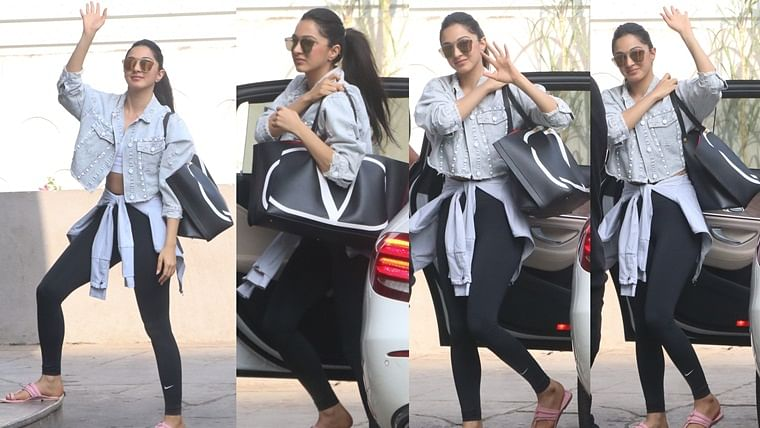 Wait, what! Kiara Advani teams her Rs 2  lakh Valentino bag with Rs 200 Kolhapuris?