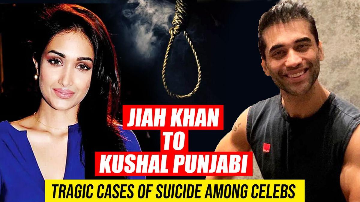 From Jiah Khan to Kushal Punjabi: Tragic cases of suicide among celebs