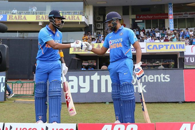 Rahul-Rohit break Ganguly and Sehwag's 17-year-old record