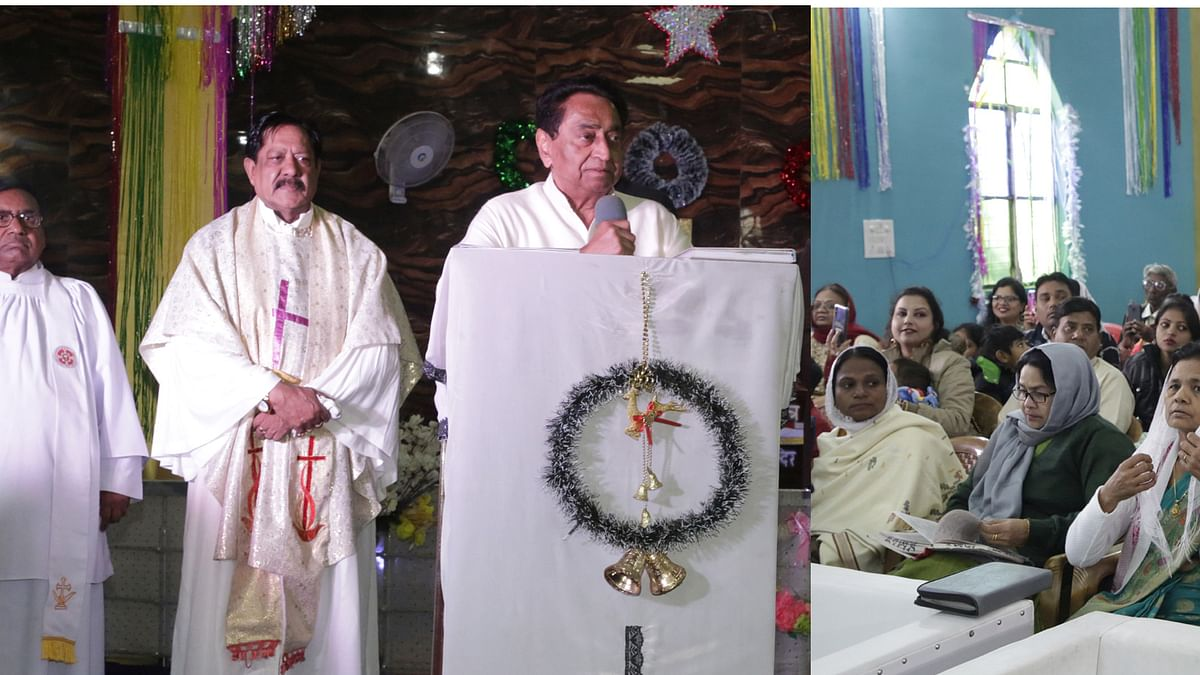 Bhopal: CM Kamal Nath hails contribution of Christians in spreading message of brotherhood
