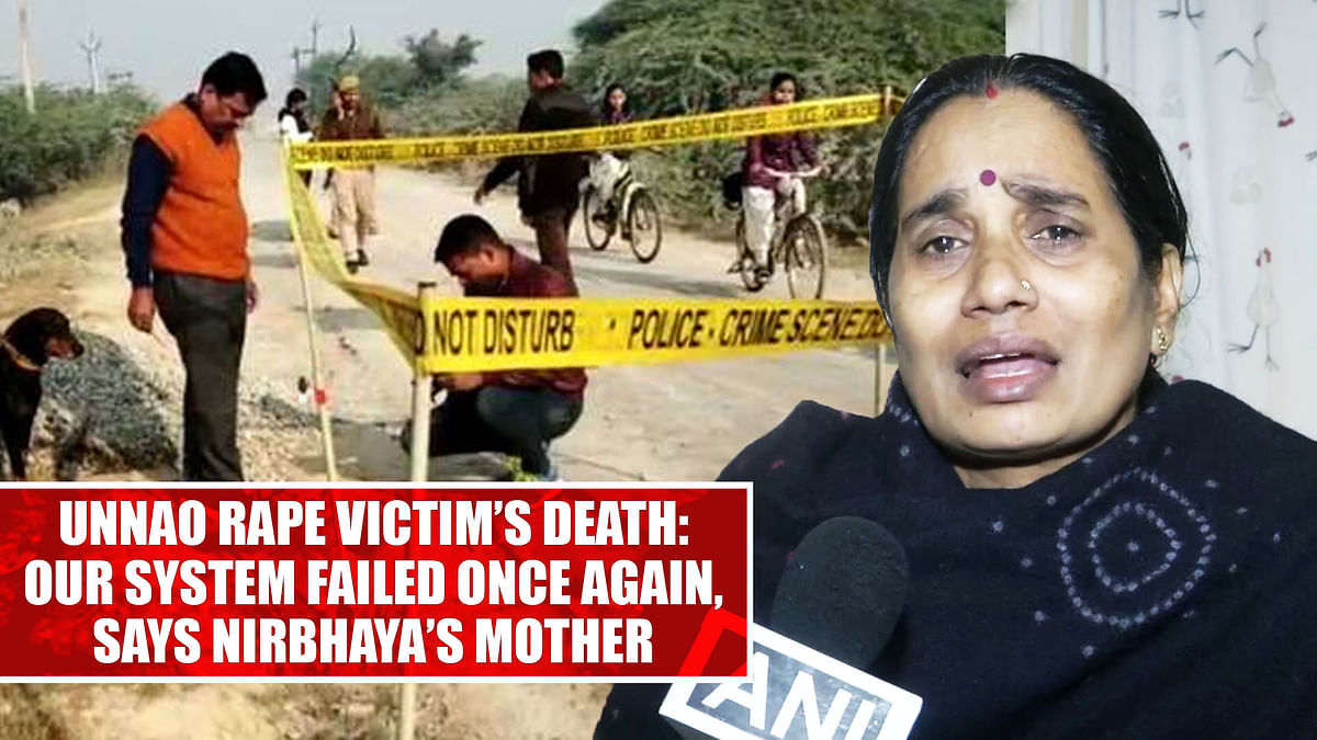 Unnao rape victim's death: Our system failed once again, says Nirbhaya's mother