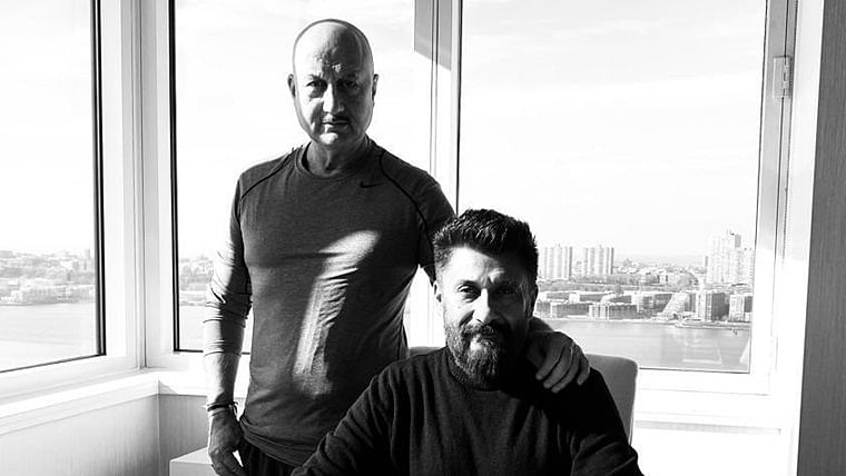 After 'The Tashkent Files', Vivek Agnihotri's next titled 'The Kashmir Files' starring Anupam Kher