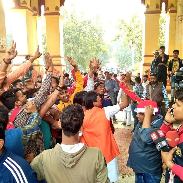 BHU budges in to students demand, transfers Prof Firoz Khan to plain Sanskrit department