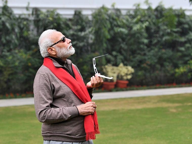 'Coolest PM': The best memes and jokes on PM Modi's Solar Eclipse pics