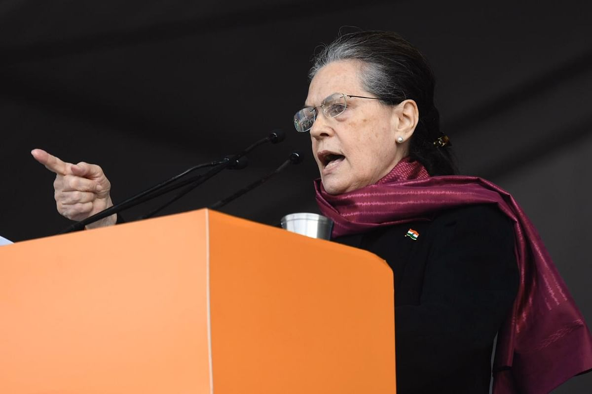 'Modi govt shatters Constitution everyday': Sonia Gandhi launches a scathing attack