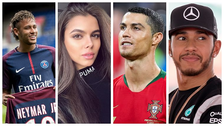 This Russian model claims that Cristiano Ronaldo slid into her DMs