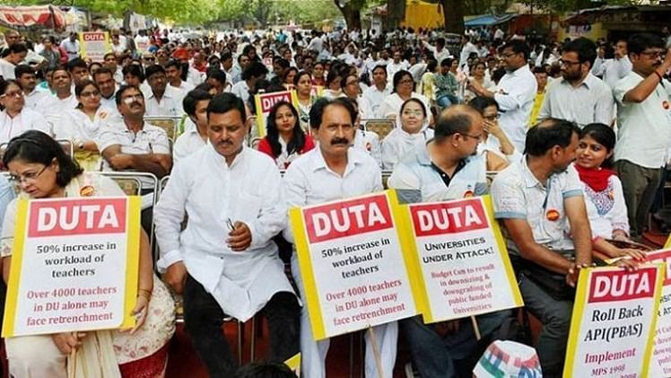 DU teachers' association to go on indefinite strike from today