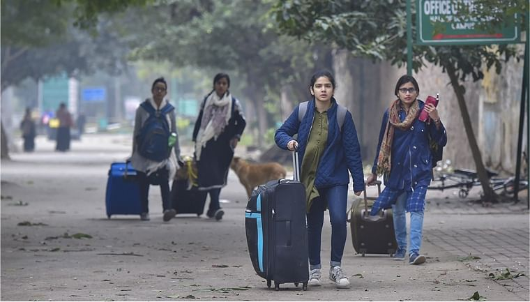 Jamia students leave hostel with nowhere to go fearing police brutality