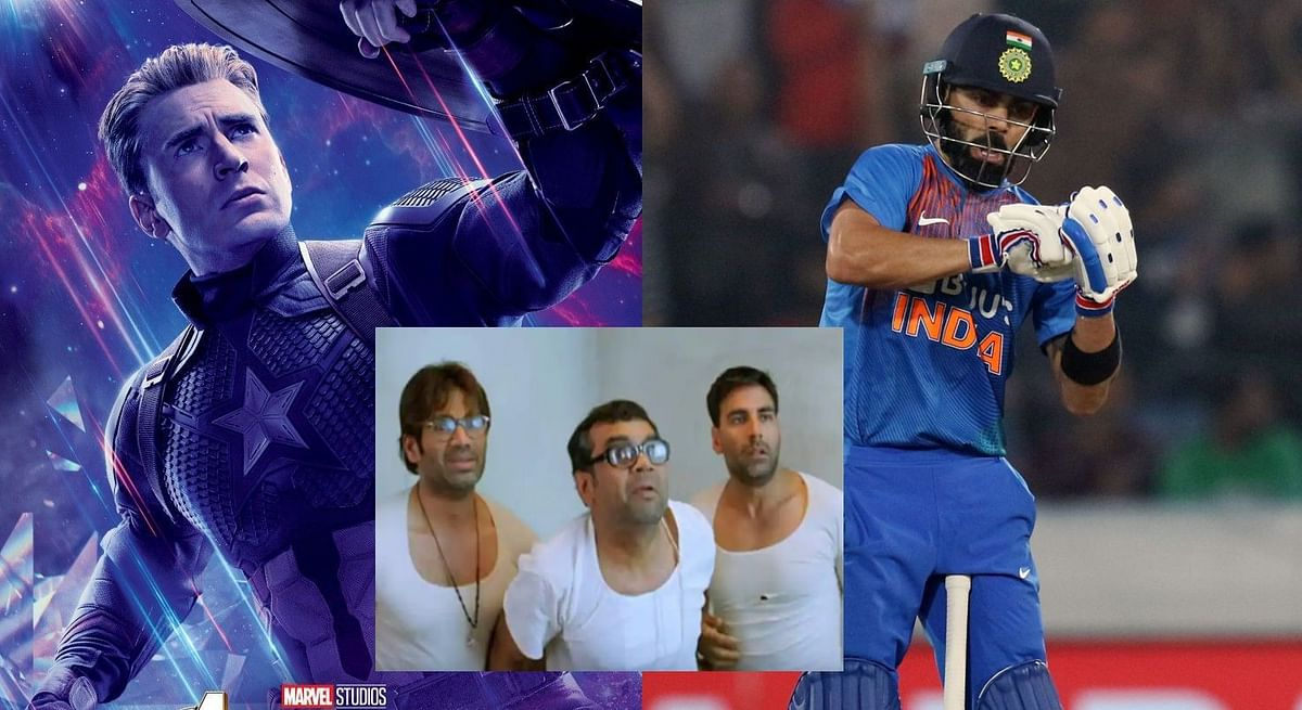 This Virat Kohli, Captain America and Babu Bhaiya mash-up is the best thing you will see on the internet today