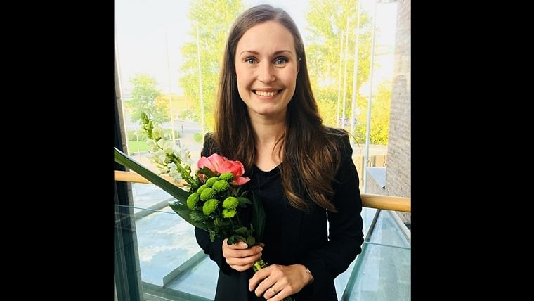 Image result for Finland Sanna Marin becomes world's youngest pm