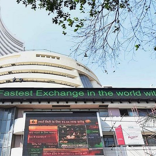 Sensex drops over 150 points in early trade; Nifty tests 14,500