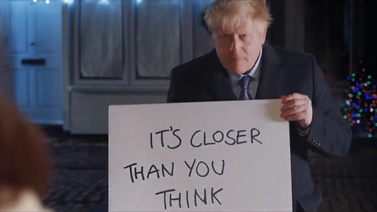 'Brexit, actually': Boris Johnson recreates movie scene, says 'it's closer than you think'
