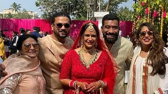 Perfect Punjabi wedding: Mona Singh is a happy bride as she dances her heart out; watch video