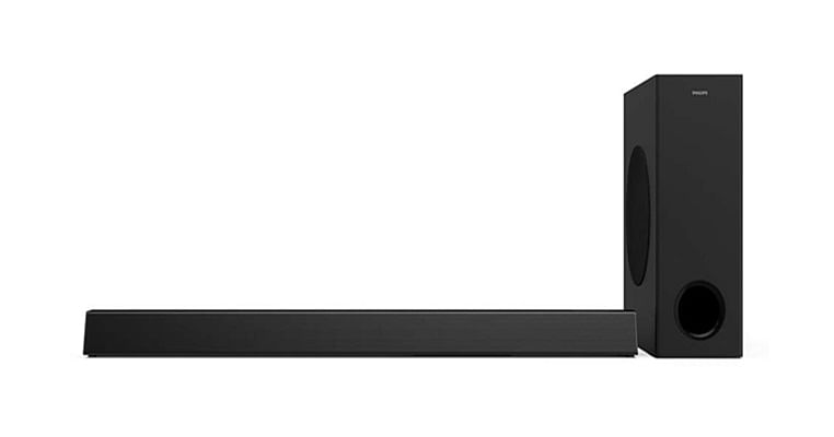 Philips 3.1, 2.1 channel soundbars with Dolby Digital
