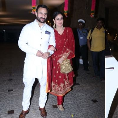 Inside Pics: Kareena blushes in red, Kiara blooms in pink for Armaan Jain's Roka ceremony
