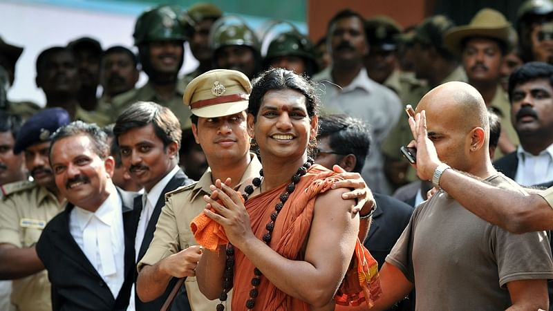 Fugitive rape-accused Swami Nithyananda sets up his own private island nation named Kailaasa