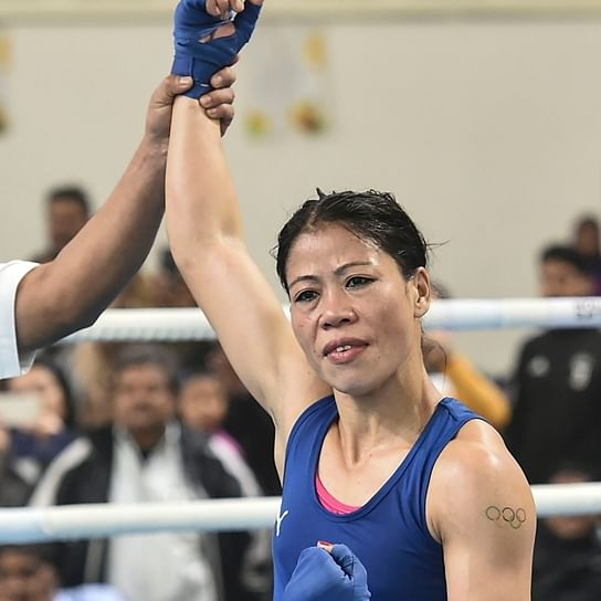 Ruthless in-and-outside ring 8 Mary beats junior rival Nikhat Zareen; denies handshake after bout, spills 'bad words'