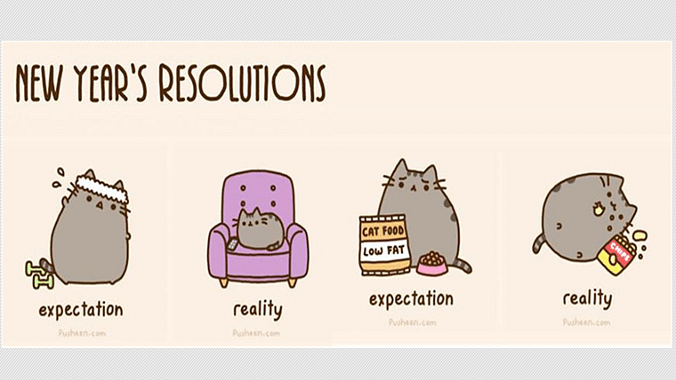 5 New Year's resolutions you are definitely going to break this year