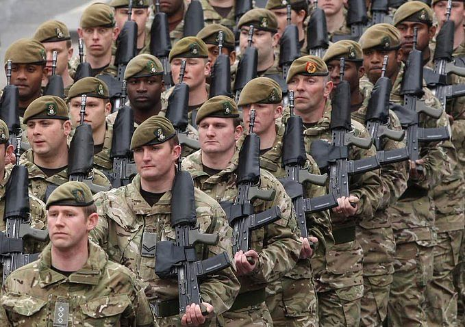 Incidents of racism prevalent in UK armed forces