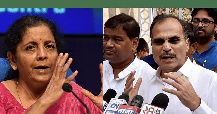 Not Nirmala but 'Nirbala' Sitharaman, Congress's Adhir Ranjan Chowdhury mocks FM