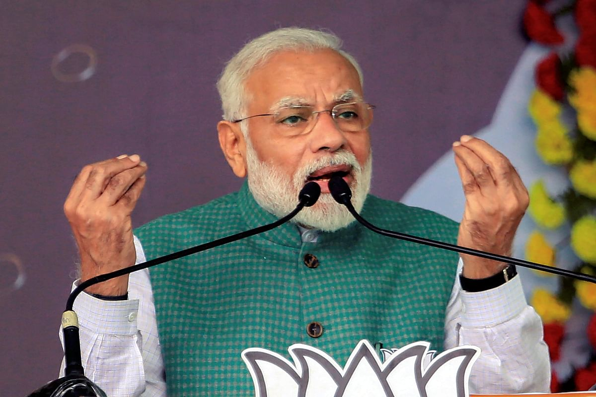 'Congress is defaming the country in the world': PM Modi launches a blistering attack for opposing CAA