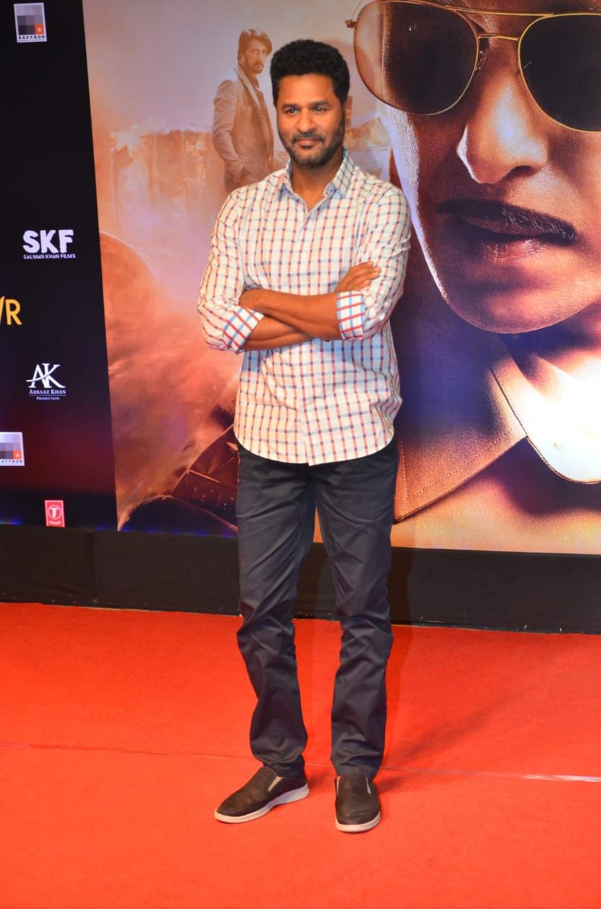 Prabhu Deva at Dabangg 3 screening