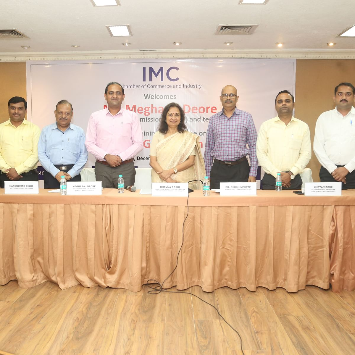 IMC organises programme on New GST Return