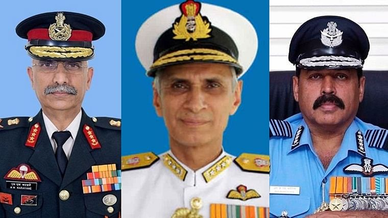 New army chief Lt Gen Naravane has this in common with the other services' chiefs