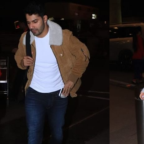 Varun Dhawan, Natasha Dalal jet off for their New Year 'baecation'; see pics