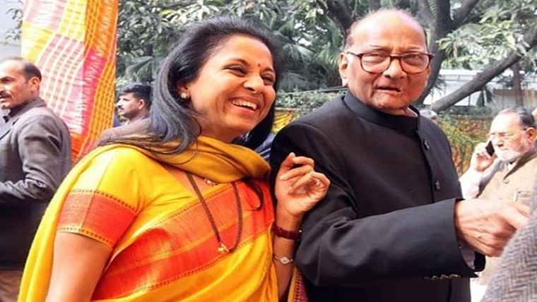 Check out Supriya Sule's adorable message for dad Sharad Pawar on his birthday