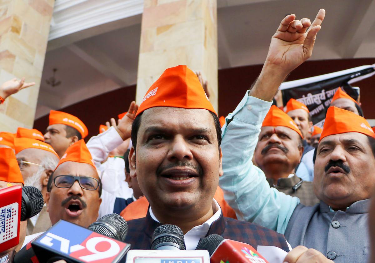Maha Winter Session: BJP legislators sport Savarkar caps, demands apology from Rahul Gandhi