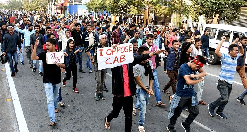 Day after total shutdown, fresh anti-CAB protests erupt in Assam