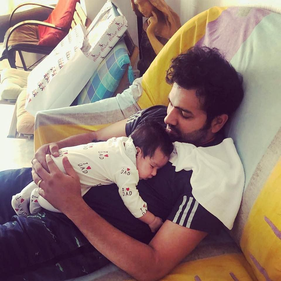 Sweetest Hitman Ever: Check out Rohit Sharma's adorable gesture for his daughter