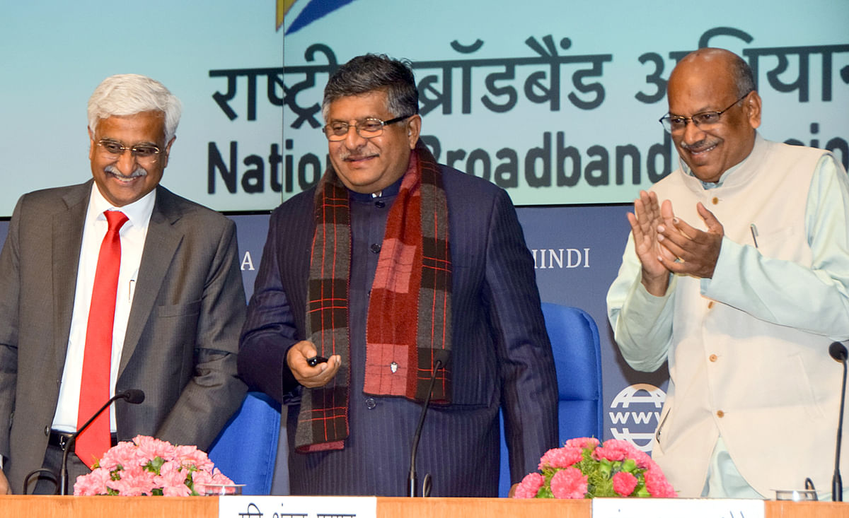 Broadband for all Indian villages by 2022: India launches National Broadband Mission