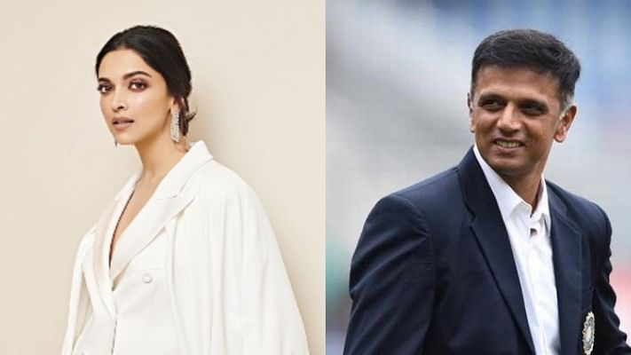 Not Dhoni or Virat, Deepika's 'all-time favorite cricketer' is Rahul Dravid
